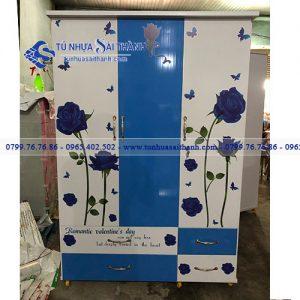 Hình 1. Tủ nhựa Đài Loan chính hãng luôn có màu sắc đẹp và độ bền màu tốt