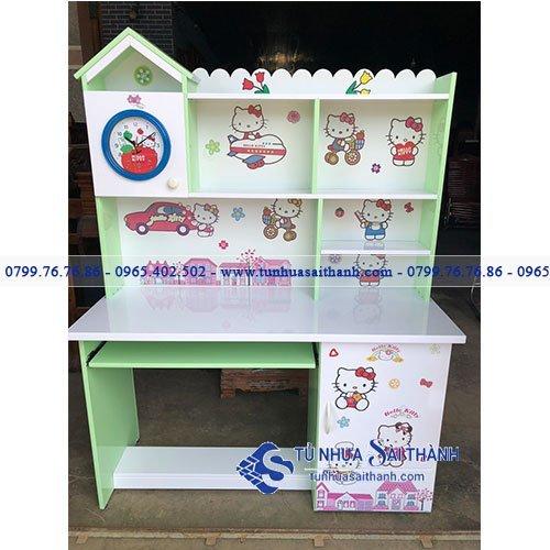 Hình 2. Một mẫu bàn học nhựa Đài Loan tại Tủ Nhựa Sài Thành