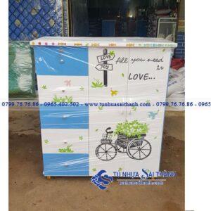 Hình 2. Một chiếc tủ cho bé tại Tủ Nhựa Sài Thành